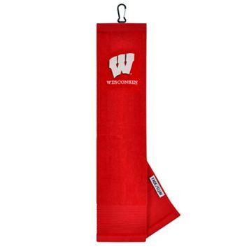 Team Effort Wisconsin Badgers Tri-Fold Golf Towel