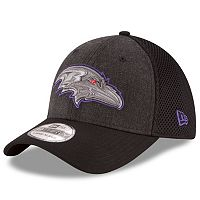 Adult New Era Baltimore Ravens 39THIRTY Heathered Neo Flex-Fit Cap