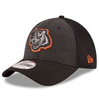 Adult New Era Cincinnati Bengals 39THIRTY Heathered Neo Flex-Fit Cap