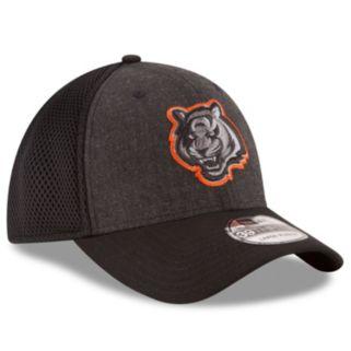 Adult New Era Cincinnati Bengals 39THIRTY Heathered Neo Flex-Fit Cap