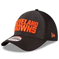 Adult New Era Cleveland Browns 39THIRTY Heathered Neo Flex-Fit Cap