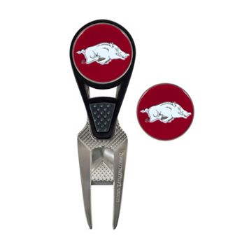 Team Effort Arkansas Razorbacks CVX Ball Mark Divot Repair Tool