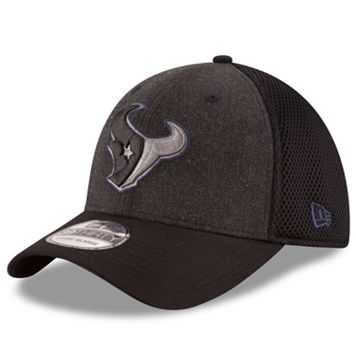 Adult New Era Houston Texans 39THIRTY Heathered Neo Flex-Fit Cap