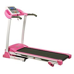Sunny Health & Fitness P8700 Pink Treadmill
