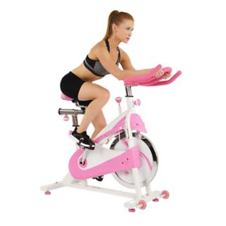 Sunny Health & Fitness P8150 Pink Premium Indoor Cycling Bike