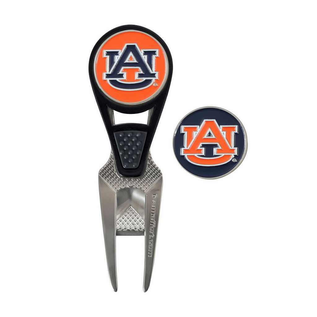 Team Effort Auburn Tigers CVX Ball Mark Divot Repair Tool