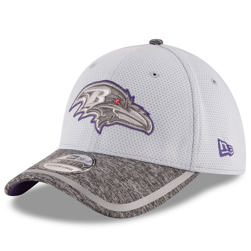Adult New Era Baltimore Ravens 39THIRTY Training Camp Fitted Cap
