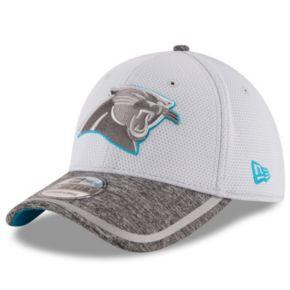 Adult New Era Carolina Panthers 39THIRTY Training Camp Fitted Cap