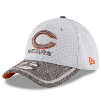 Adult New Era Chicago Bears 39THIRTY Training Camp Fitted Cap