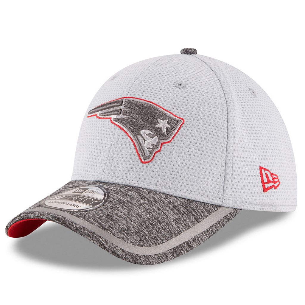 Adult New Era New England Patriots 39THIRTY Training Camp Fitted Cap