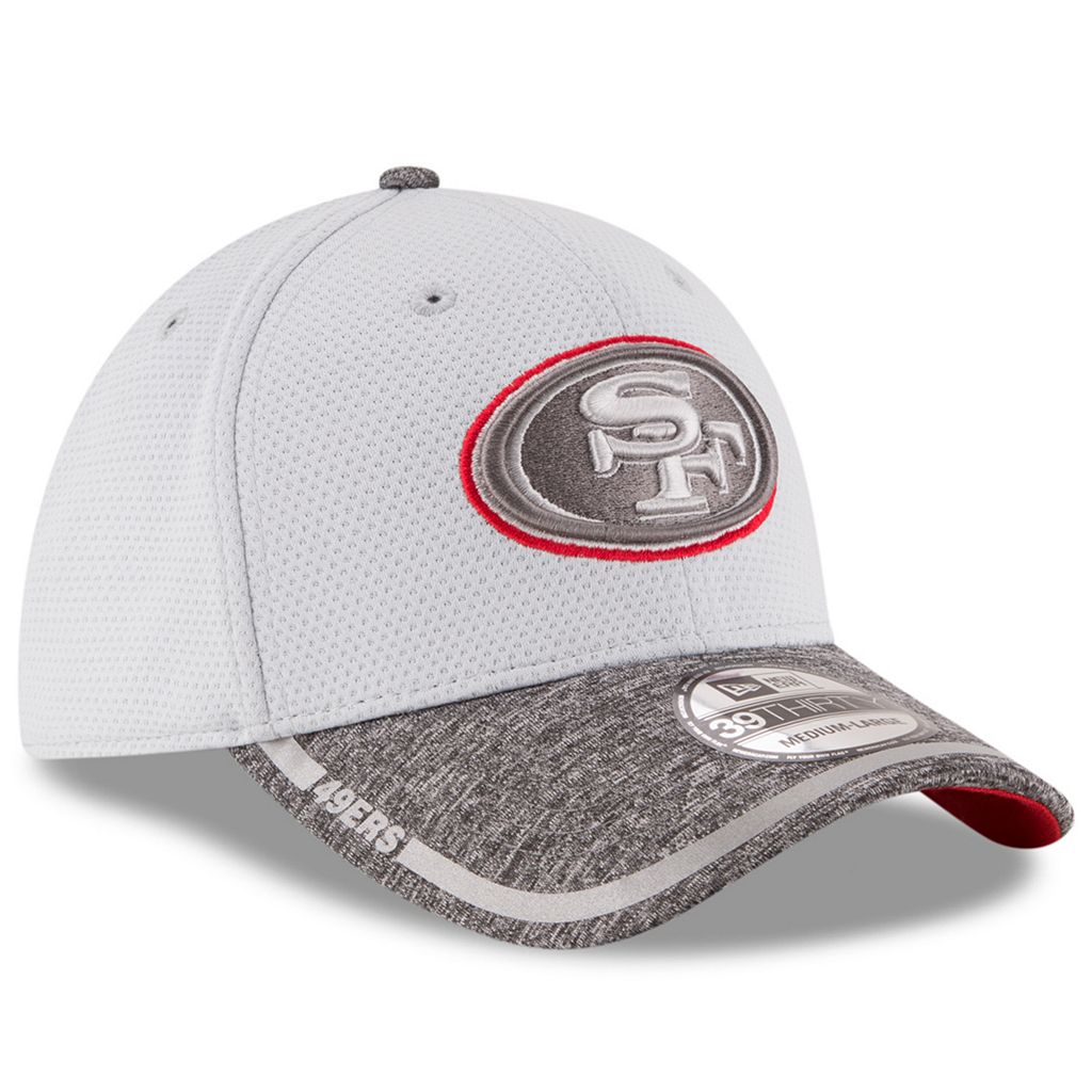 Adult New Era San Francisco 49ers 39THIRTY Training Camp Fitted Cap
