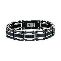 AXL by Triton Men's Two Tone Stainless Steel Bracelet