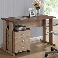 Baxton Studio Woodrow Writing Desk