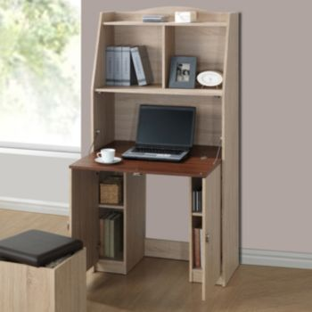 Baxton Studio Rutherford Convertible Study Desk