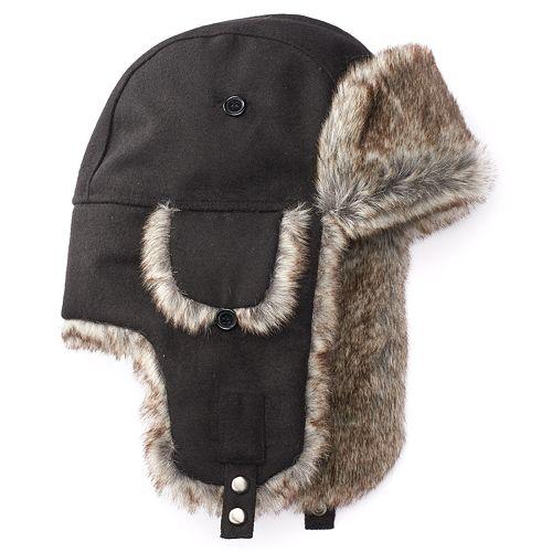 511d7240f1566 Men s Apt. 9® Wool-Blend Trapper Hat