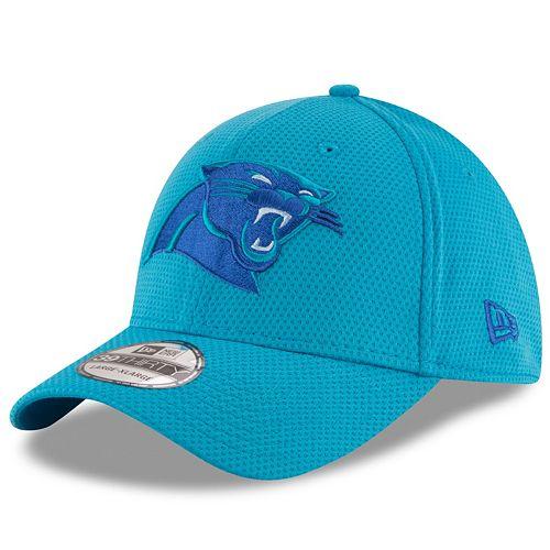 Adult New Era Carolina Panthers 39THIRTY Tone Tech Fitted Cap