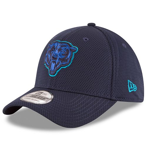 Adult New Era Chicago Bears 39THIRTY Tone Tech Fitted Cap