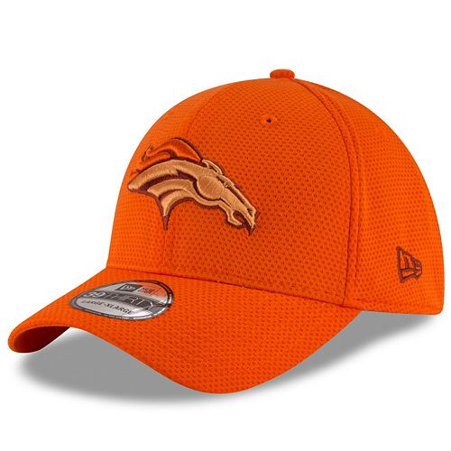 Adult New Era Denver Broncos 39THIRTY Tone Tech Fitted Cap