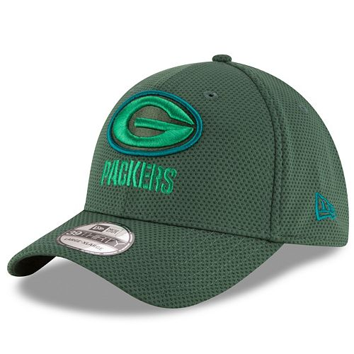 Adult New Era Green Bay Packers 39THIRTY Tone Tech Fitted Cap