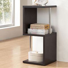Baxton Studio 2-Tier Lindy Display Shelf