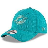 Adult New Era Miami Dolphins 39THIRTY Tone Tech Fitted Cap