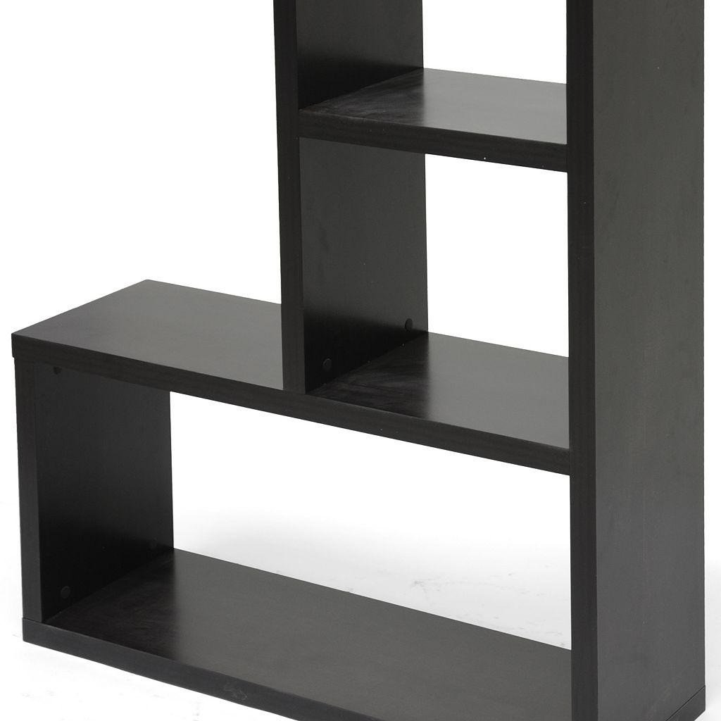 Baxton Studio Rupal Display Bookshelf