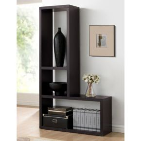 Baxton Studio Rupal Display Bookshelf