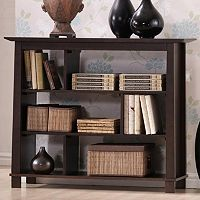 Baxton Studio Havana Wood Bookcase