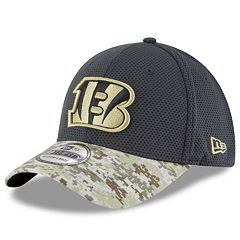 Adult New Era Cincinnati Bengals 39THIRTY Salute to Service Camo Fitted Cap