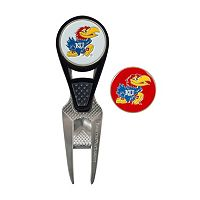 Team Effort Kansas Jayhawks CVX Ball Mark Divot Repair Tool