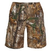 Men's Earthletics Modern-Fit Camo Twill Cargo Shorts