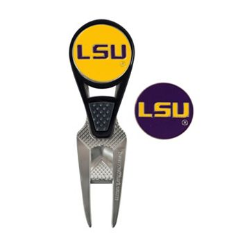 Team Effort LSU Tigers CVX Ball Mark Divot Repair Tool