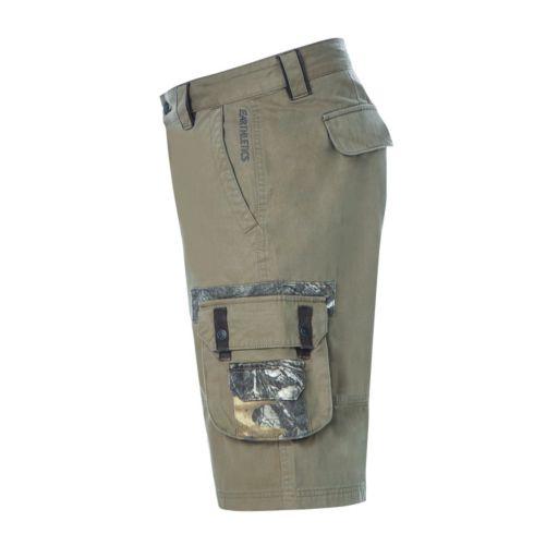 Men's Realtree Earthletics Modern-Fit Twill Cargo Shorts
