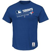 Big & Tall Majestic Toronto Blue Jays AC Team Choice Tee