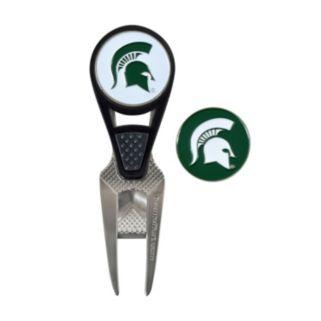 Team Effort Michigan State Spartans CVX Ball Mark Divot Repair Tool