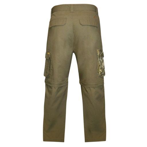 Men's Realtree Earthletics Modern-Fit Ripstop Convertible Cargo Pants