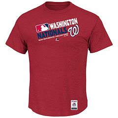 Big & Tall Majestic Washington Nationals AC Team Choice Tee