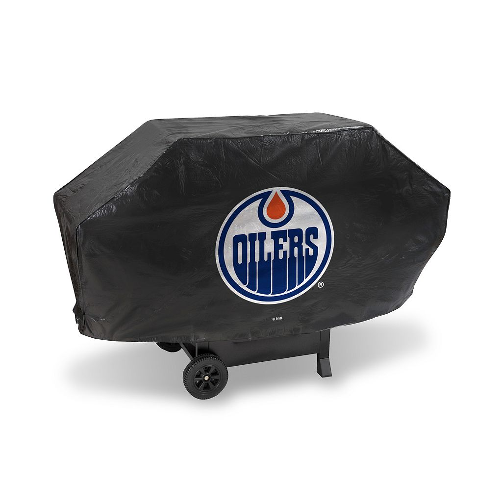 Edmonton Oilers Deluxe Grill Cover