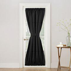 No 918 1-Panel Montego Door Curtain Panel & Tie Back