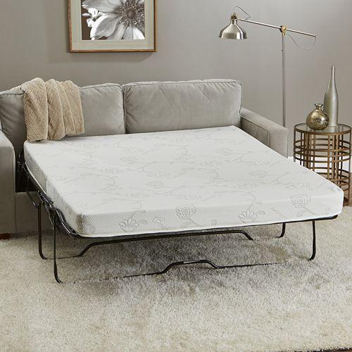 CertiPUR-US 4.5-inch Memory Foam Sofa Sleeper Mattress