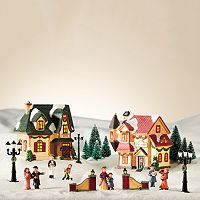 St. Nicholas Square® Village 20-piece Gift Shop / Hotel Starter Set