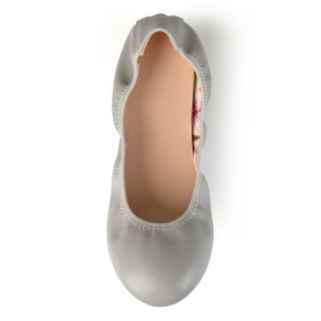 Journee Collection Lindy Women's Scrunch Ballet Flats