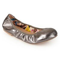 Journee Collection Lindy Women's Scrunch Ballet Flats