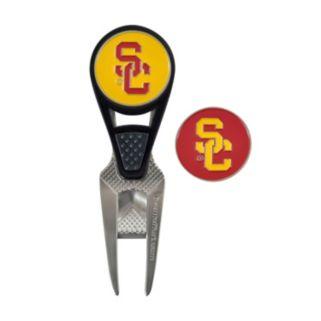 Team Effort USC Trojans CVX Ball Mark Divot Repair Tool