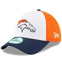 Adult New Era Denver Broncos 9FORTY Block Adjustable Cap