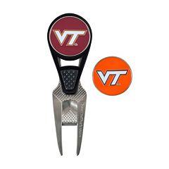 Team Effort Virginia Tech Hokies CVX Ball Mark Divot Repair Tool