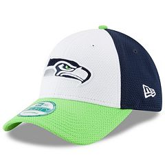 Adult New Era Seattle Seahawks 9FORTY Block Adjustable Cap
