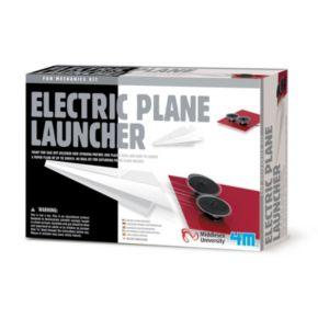 Toysmith 4M Electric Plane Launcher Science Kit