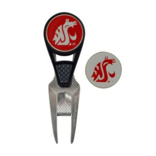 Team Effort Washington State Cougars CVX Ball Mark Divot Repair Tool