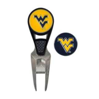 Team Effort West Virginia Mountaineers CVX Ball Mark Divot Repair Tool